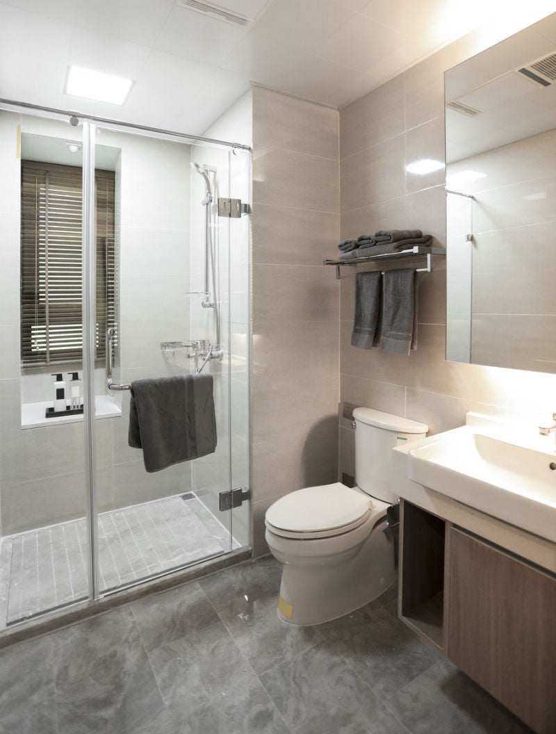 Achieving Privacy with a Window in the Shower