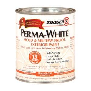 最佳外部涂料选择:铁锈-地桑永白半光泽外部涂料
