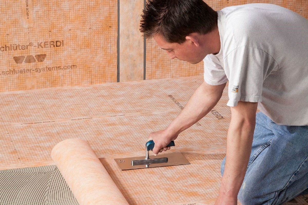 Your Options for Tile Underlayment: Membranes