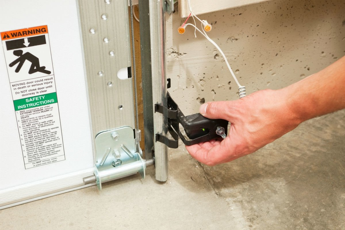 Garage Door Troubleshooting Tips for Checking Sensors
