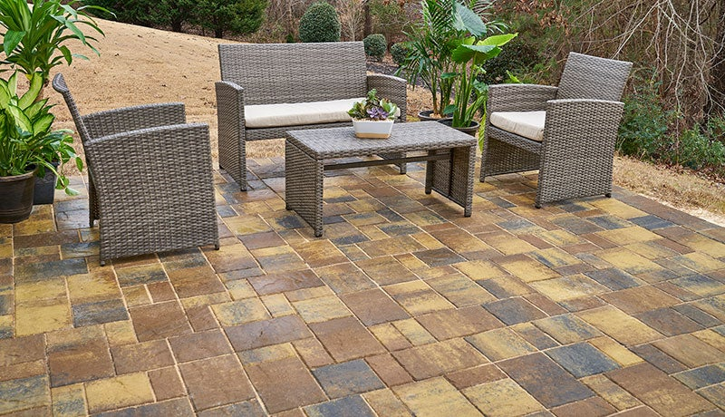Turn a Worn Patio Slab into a Foundation for Pavers