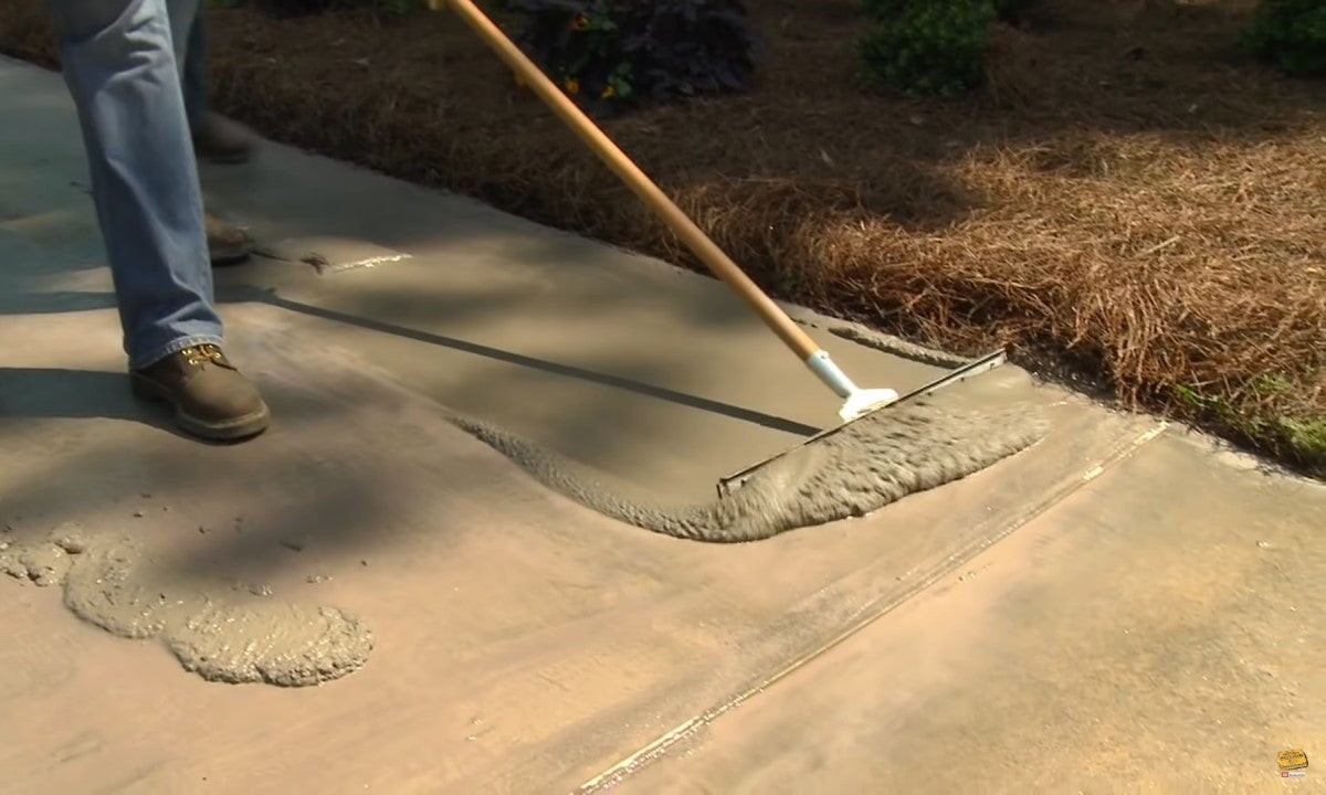 Renew a Worn Patio with Quikrete Re-Cap