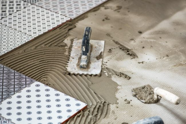 Get the Tips for Installing Cement Tile Floors