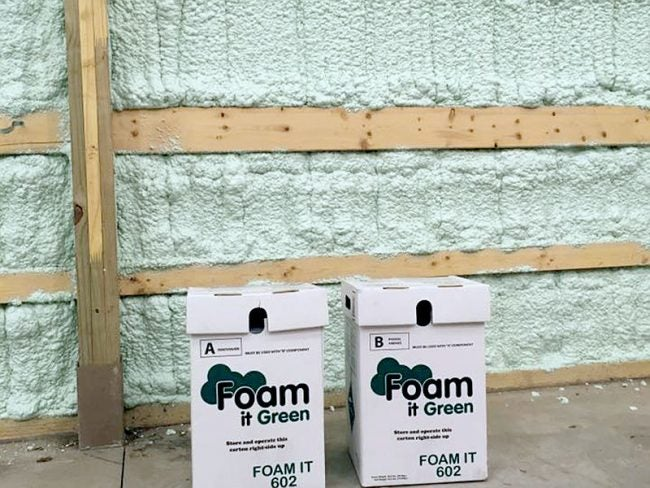 Spray Foam It Green Kits Wherever You Need Insulation