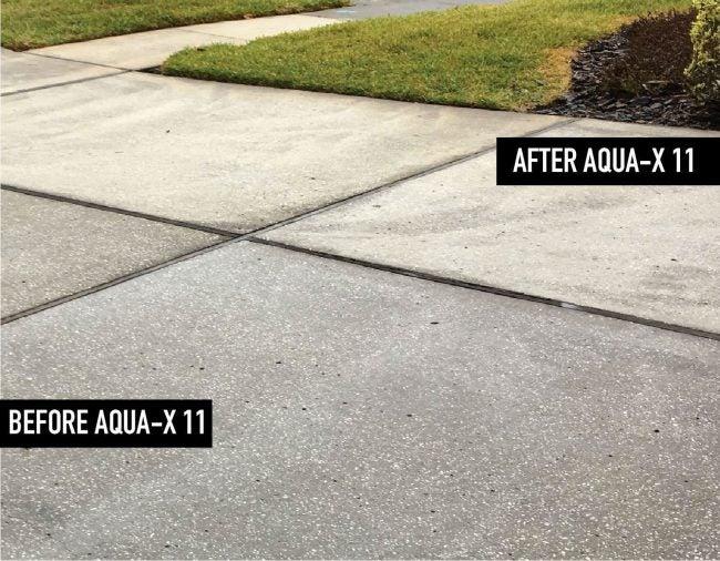 Best Mold-Inhibiting Concrete Driveway Sealer: AQUA X