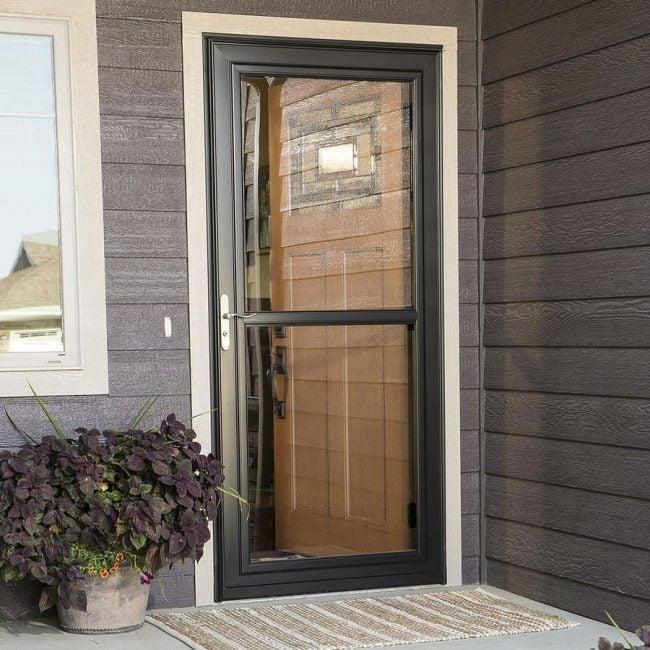 The Best Storm Door for Full-View: Larson