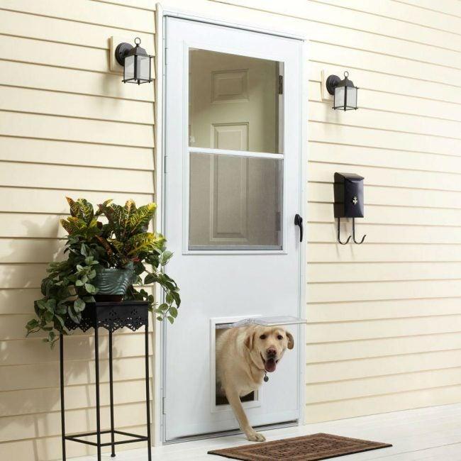 Best Storm Doors for Pet Owners: EMCO