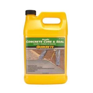 最好的车道密封选择:Quikrete丙烯酸混凝土固化和密封