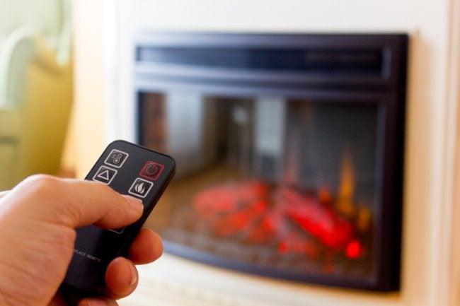 舒适的家最好的电动壁炉