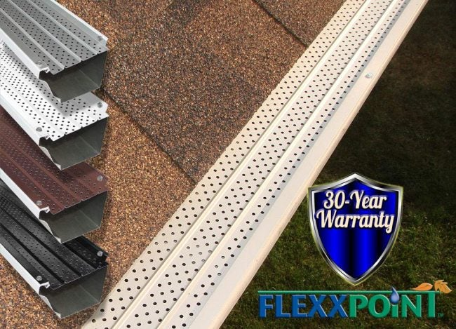 Best Gutter Guards for Heavy Leaf Accumulation: FlexxPoint