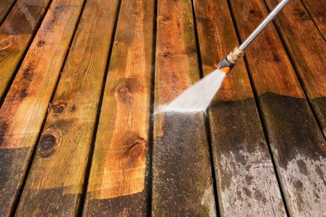 Power-Washing is an Easy DIY Deck Repair