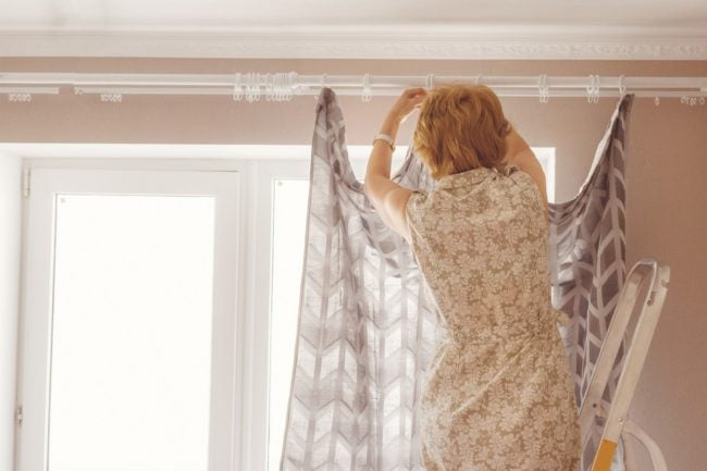 The Right Rods for Hanging Curtains