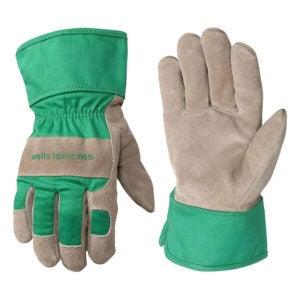 最好的园艺手套选项:Wells Lamont Kids工作和园林手套