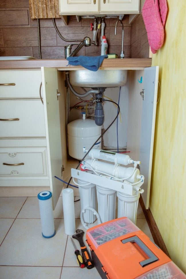 Install a Certified Point-of-Use Filter if Concerned About Lead Pipes