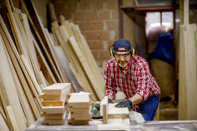 Miter Saw vs. Table Saw: The Table Saw Works Better for Cuts in Large Pieces of Wood