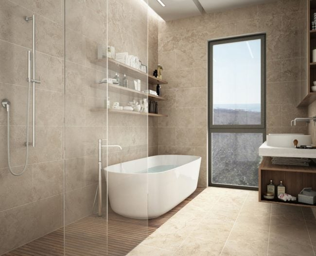 Travertine Tile 101 How To Design With And Care For The Stone Bob Vila