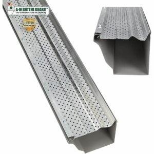 """The Best Gutter Guards Option: A-M Aluminum Gutter Guard 5"""""""