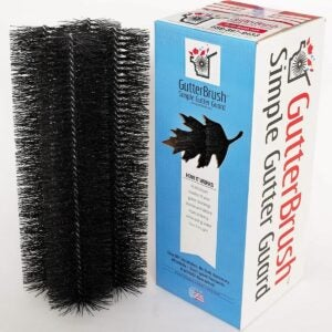 The Best Gutter Guards Option: GutterBrush Simple Gutter Guard