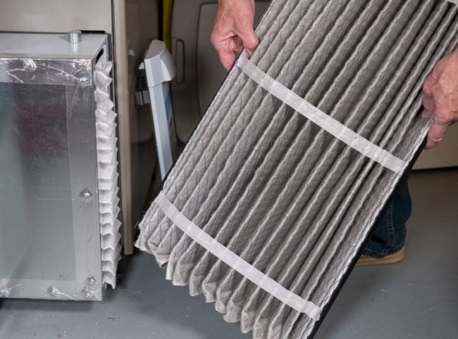 You Can Tell How Often to Change a Furnace Filter by Its Appearance