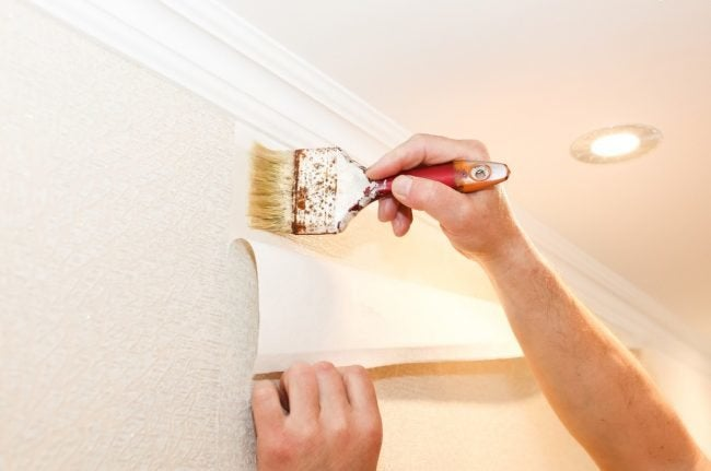 Adding New Adhesive When Wallpaper is Peeling
