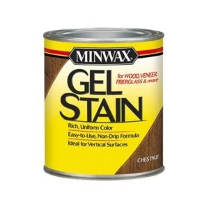 The Best Wood Stain Option: Minwax Gel Stain