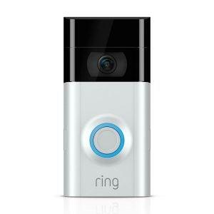 最好的门铃摄像头选项:环形视频门铃2