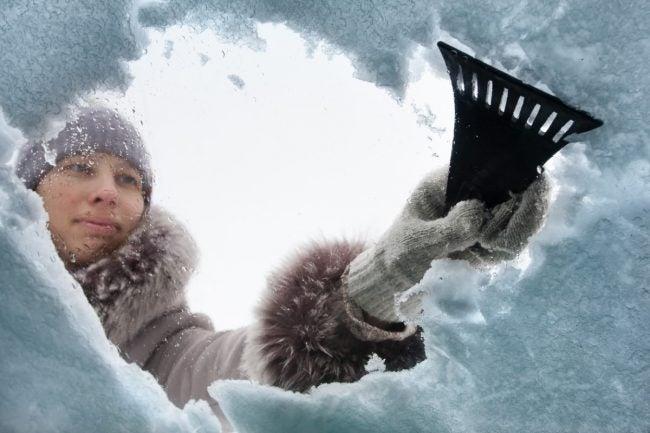 冬季驾驶的最佳刮冰器