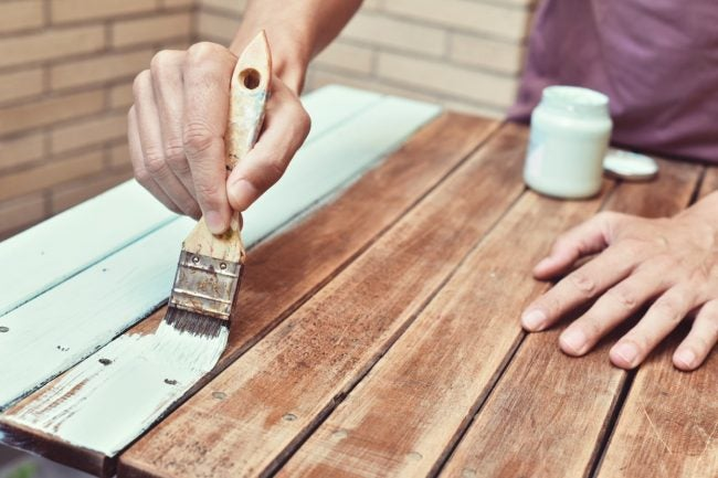 Can You Paint Over Stain with Chalk Paint? Yes, and Here's How