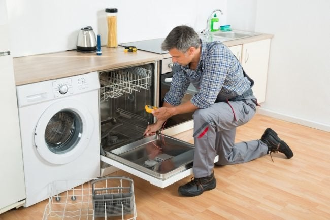 How to Repair a Dishwasher That's Not Drying