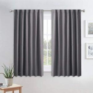 The Best Blackout Curtains Option: PONY DANCE Blackout Window Curtains