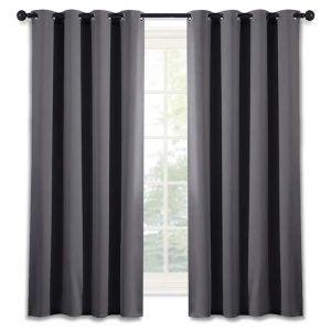 The Best Blackout Curtains Option: NICETOWN Grommet Top Blackout Curtain