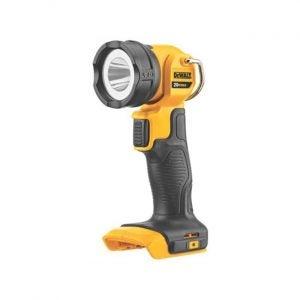 The Best Flashlight Option: DEWALT 20-Volt Max Lithium-Ion LED Flashlight