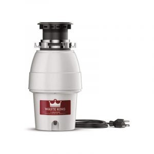 The Best Garbage Disposal Option: Waste King Legend 12 HP Continuous-Feed Disposal with Cord