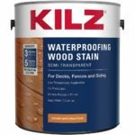 最佳甲板染色选择:KILZ L832111外防水木质染色剂