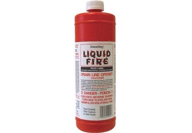 Best Drain Cleaner - Liquid Fire