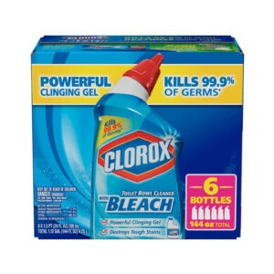 The Best Bathroom Cleaner Option: Clorox Toilet Bowl Cleaner with Bleach
