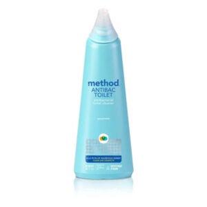 The Best Bathroom Cleaner Option: Method Antibacterial Toilet Bowl Cleaner.