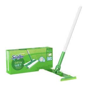 The Best Bathroom Cleaner Option: Swiffer Sweeper 2-in-1, Floor Cleaner Mopping Kit