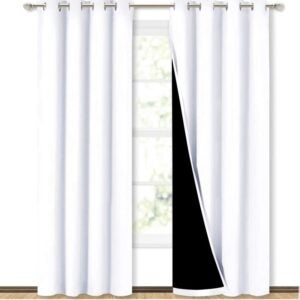 The Best Blackout Curtain Option: NICETOWN 100% Blackout Window Curtain Panels