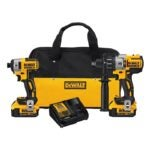 The Best Cordless Drill Option: DEWALT 20V MAX XR Brushless Impact Driver and Hammer