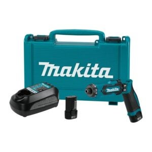 The Best Cordless Drill Option: Makita DF012DSE 7.2V Lithium-Ion Cordless