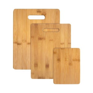 The Best Cutting Board Option: Totally Bamboo 3-Piece Bamboo Cutting Board Set