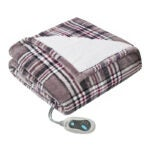The Best Electric Blanket Option: Beautyrest Ultra Soft Sherpa Heated Wrap Blanket