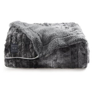The Best Electric Blanket Option: Bedsure Low-Voltage Electric Heated Blanket Throw