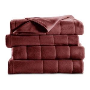 The Best Electric Blanket Option: Sunbeam Quilted Fleece Heated Blanket