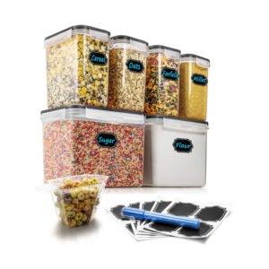 最好的食品存储容器选项:WirwOne密闭食品储存容器
