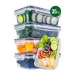 最好的食品储存容器选项:全星食品储存容器带盖