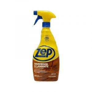 最好的硬木清洁剂选择:Zep Hardwood和层压底板清洁剂