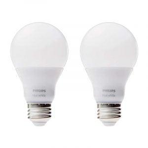 The Best LED Light Bulb Options: Philips Hue White Smart LED