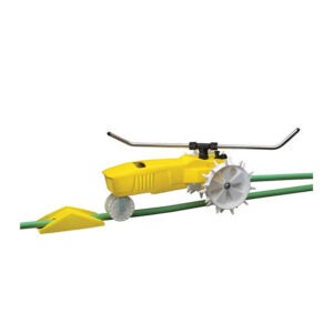The Best Lawn Sprinkler Option: Nelson RainTrain Traveling Sprinkler